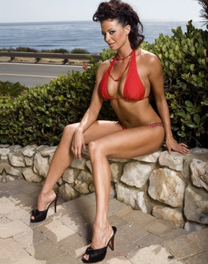Candice Michelle appeared nude for Playboy in 2006
