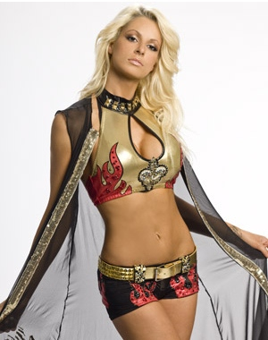 Maryse Ouellet is a hot WWE Diva that got naked