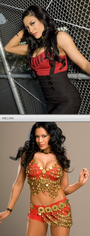 Melina has never had plastic surgery, except in two places