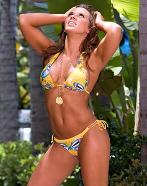Too bad Mickie James was fired by WWE, she's hot