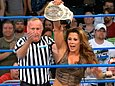 Mickie James is a hot former WWE Diva and TNA Knockout. Check out these photos of Mickie James with nothing on. Mickie James always makes sure that she is not exposed on WWE television. Mickie James wears thongs underneath her wrestling ring gear.